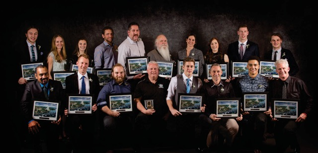 Winners of the 2016 Nanaimo Sports Achievement Awards