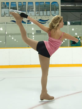Female Figure Skater in Nanaimo