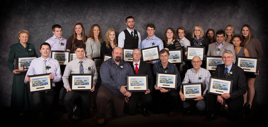 Winners of the 2015 Nanaimo Sports Achievement Awards