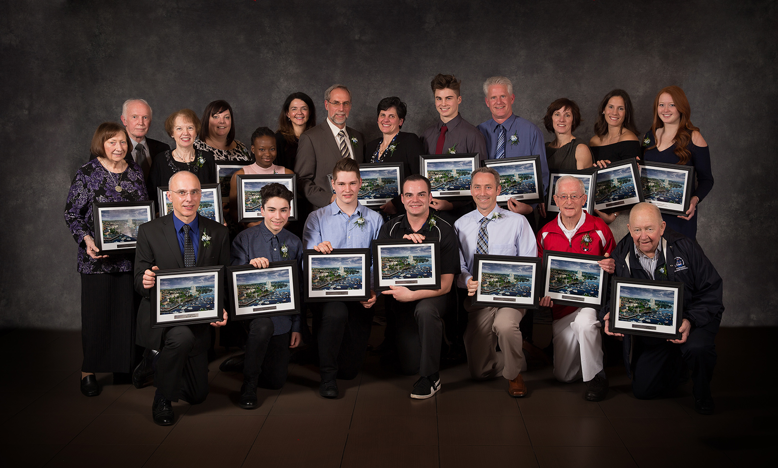 Winners of the 2017 Nanaimo Sports Achievement Awards